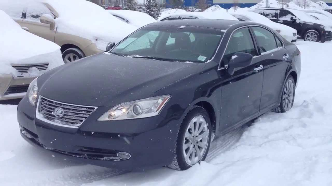 Pre Owned 2007 Lexus Es 350 Ultra Premium Package With