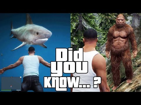 GTA 5 Easter Eggs and Secrets 2 Facts, Ghosts, Sharks, Myths
