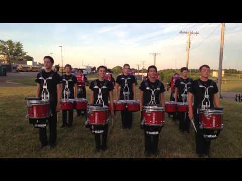 Calgary Stampede Showband Drumline 2016 - Part 1