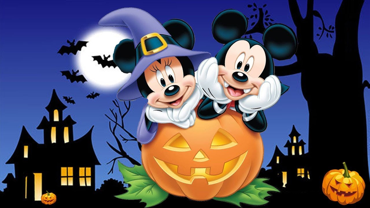 Minnie Mouse Mickey Mouse Halloween Drawing Mickey Mouse ...