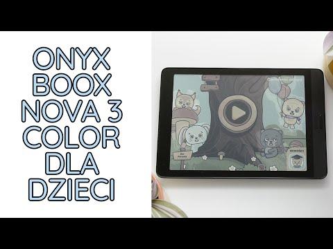 Jak działają aplikacje i gry dla dzieci na Onyx Boox Nova 3 Color?