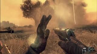 jugando call of duty 2