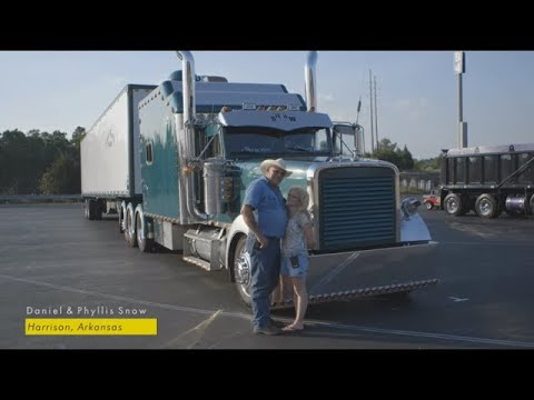 Shell Rotella: SuperRigs 2014 - Daniel & Phyllis Snow