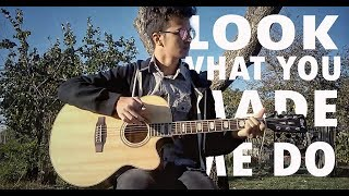 Look What You Made Me Do - Taylor Swift (Fingerstyle Guitar Cover by Vali Revai)