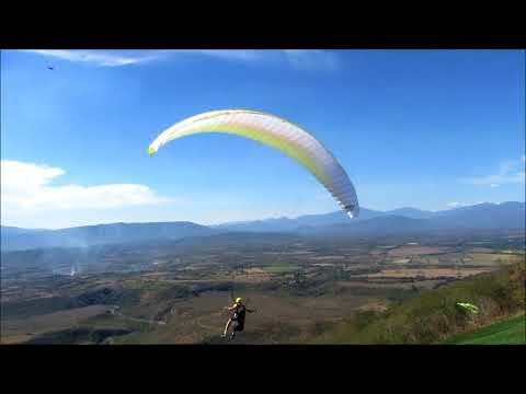 Paragliding at Colima Mexico