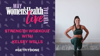 Who says you need a gym for resistance training? sweat app sensation kelsey wells will put through your paces in muscle-achingly good body-weight sessi...