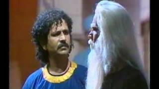 Gajendra Rathi (Edipus) Theatre play (Mandi House New Delhi)
