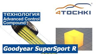 Goodyear SuperSport R - технология Advanced Control Compound