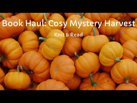 book-haul:-cosy-mystery-harvest