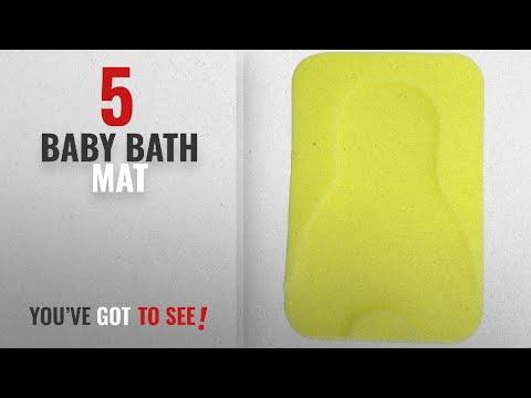 Top 10 Baby Bath Mat [2018]: Summer Infants Comfy Bath Sponge (Yellow)