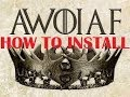 How To Install Mods For Mount Blade Warband A World Of Ice And Fire mp3