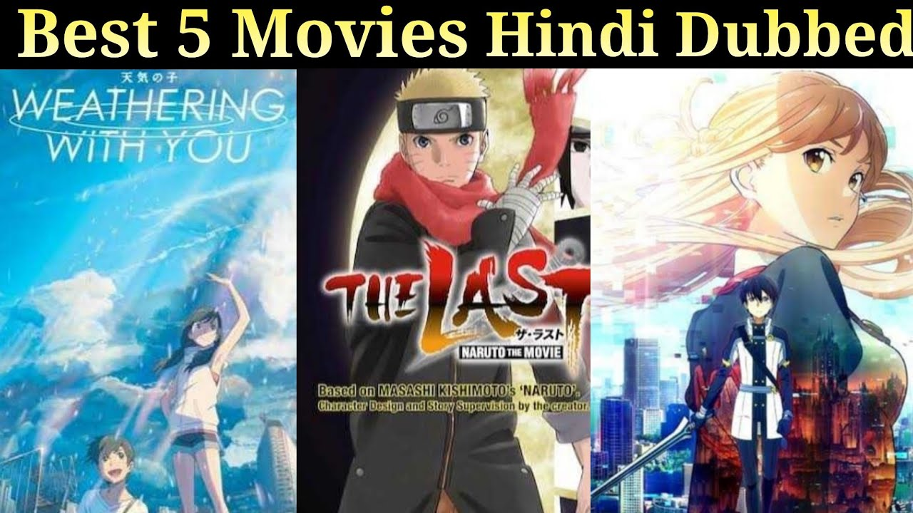 Best Dubbed  2021 Top 5 Upcoming Anime Movies Hindi Dubbed 2020 2021   YouTube