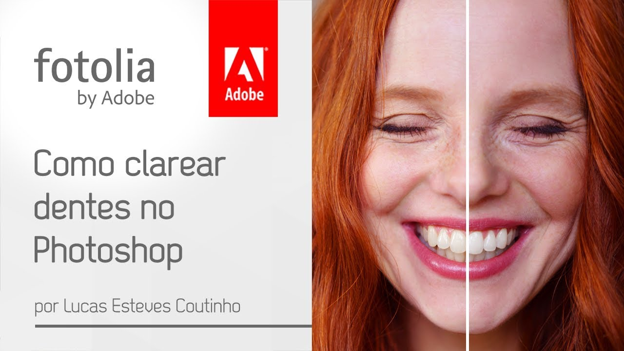 Como Clarear Dentes No Photoshop Youtube