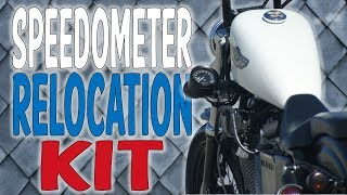Gambar cover DK Custom Products Speedometer Relocation Kits For Harley-Davidson