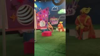 Климентий на съемке Бум Шоу на канале Карусель