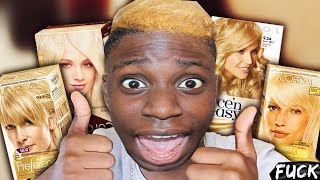 DYING MY HAIR BLONDE NO FUCKING WAY! (Gone Wrong)