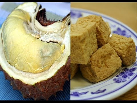 Trying Stinky Tofu and Durian for the First Time
