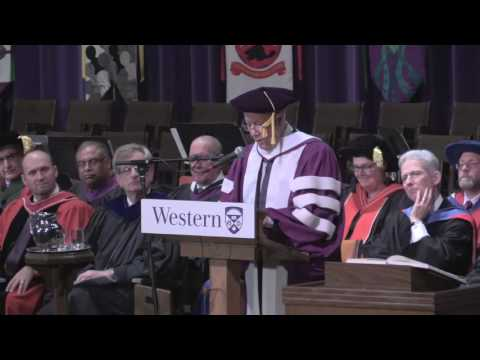 Western Convocation -  October 27, 2016 (afternoon)