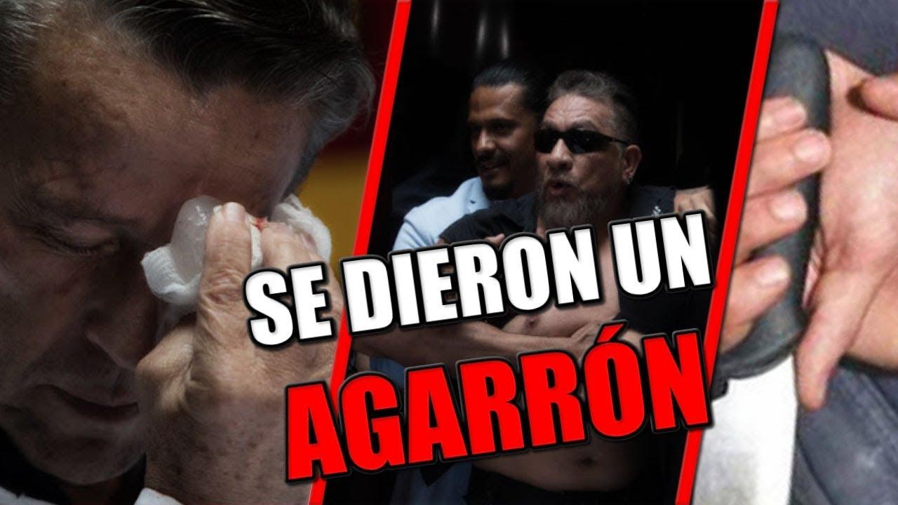 CARLOS TREJO golpea a ALFREDO ADAME en la CARA