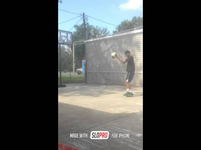 Free throw slo mo