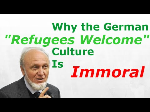 "The Immorality of Germany's ""Refugees Welcome"" Culture Explained by German Economist Sinn"