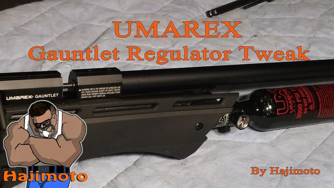 Umarex Gauntlet: Regulator Testing and Adjusting
