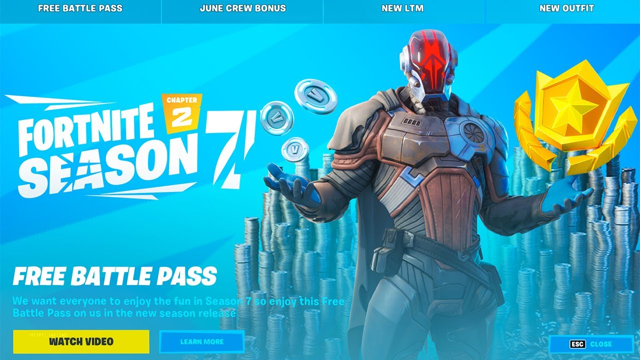 It Wont Let Me Buy The Fortnite Battle Pass Free Battle Pass For Everyone Season 7 Youtube