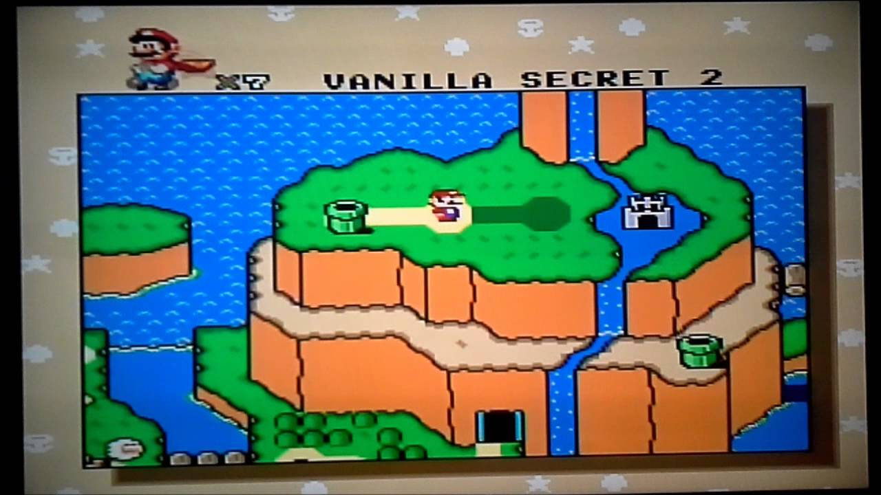 Super Mario World Vanilla Secret 2 Youtube