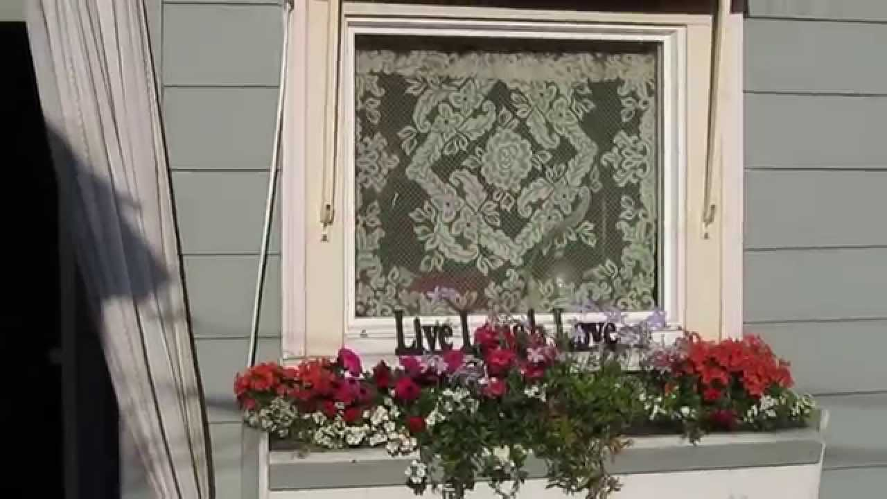 TIPS FOR PLANTING WINDOW BOX FLOWERS - YouTube