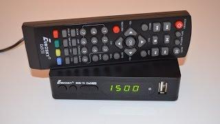 Va DVB-T2 Tuner (qabul qiluvchi) T2 bir Eurosky ES-11 konfiguratsiya mulohaza