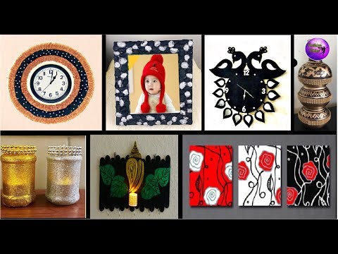 7 Diy room decor | Diy crafts ideas |waste material craft ideas | Fashion pixies