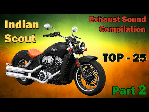 Indian Scout best exhaust sounds