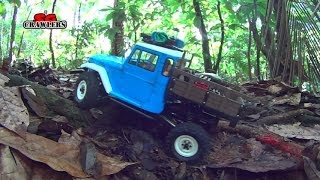 Axial SCX10 RC4WD Trail finder 2 RCModelex Defender 110 Land Cruiser RC offroad adventures Part 1