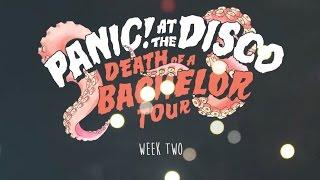 Panic! At The Disco Death Of A Bachelor Tour Week 2 Recap