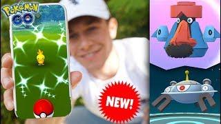 EVOLVING TO NEW PROBOPASS & MAGNEZONE in Pokémon GO! + SHINY TORCHIC Community Day!