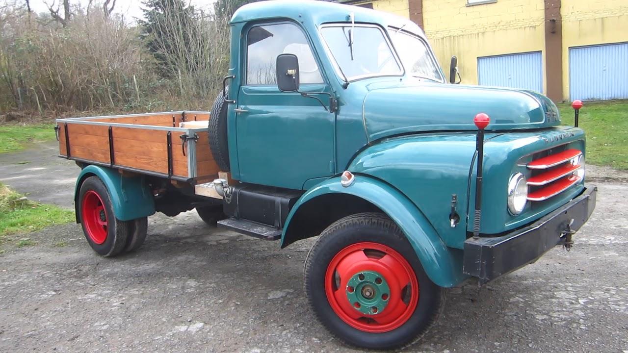 Hanomag Al 28 Kleinlastwagen Mit Pritsche Youtube