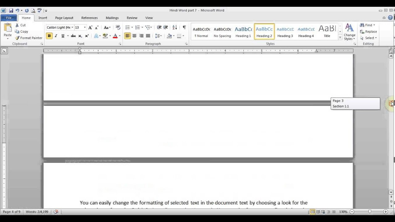 how to work footnotes in microsoft word