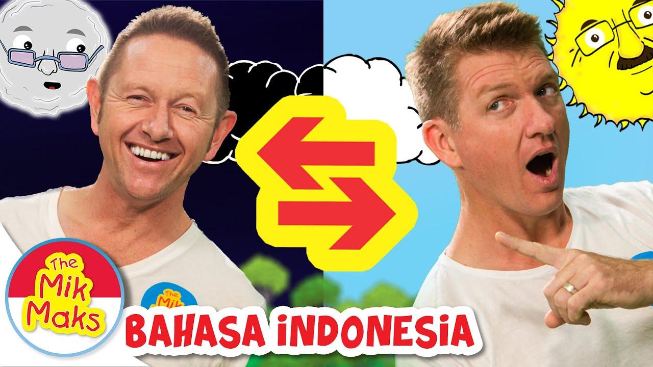 Lagu Lawan Kata | Belajar Lawan Kata The Mik Maks Indonesia | lagu anak anak