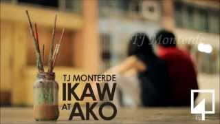 TJ Monterde - Ikaw at Ako [Lyrics Video]