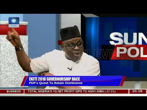 Image result for Those waiting to deal with me after my tenure ends will wait in vain - Fayose