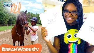 Keeping It Stable: Homework vs Horse ft. MyFroggyStuff | SPIRIT RIDING FREE IRL