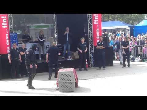 Hannovers 'gefährlichster' Polizeihund