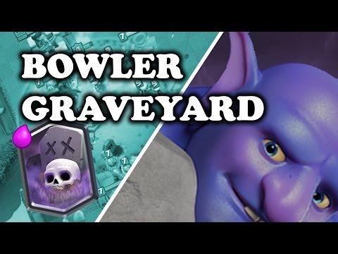 Clash Royale | Bowler Graveyard Deck | New Meta? להורדה