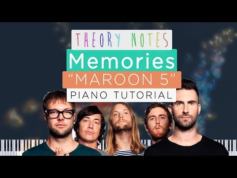 how-to-play-maroon-5---memories-ft.-canon-in-d-|-theory-notes-piano-tutorial