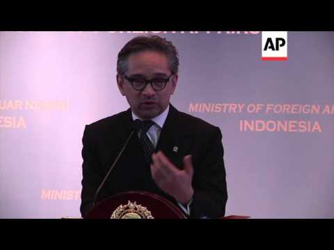 Indonesian FM says relations with Australia are in difficult phase