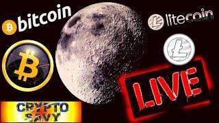 🔥Crypto Savy Live Stream !!🔥 bitcoin litecoin price prediction, analysis, news, trading