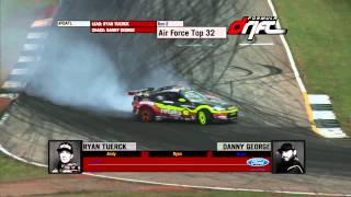 Ryan Tuerck vs Danny George (Formula DRIFT Road Atlanta 2013)