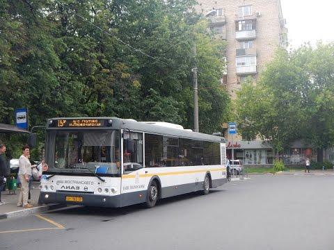 Поездка на автобусе ЛиАЗ-5292.60 (МТА) ЕТ 165 50 Маршрут № 15 Реутов