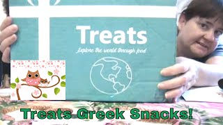 Unboxing Treats Greece Snacks From Around The World June 2017