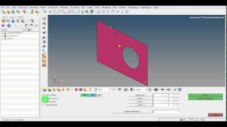 hypermesh tutorial video   measure distance angle   circle center   grs